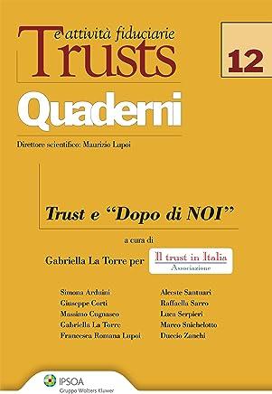 Trusts e attività fiduciarie