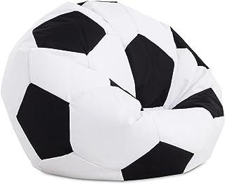 Textilhome - Balón PUF de Futbol Pelota de Puff, 90cm