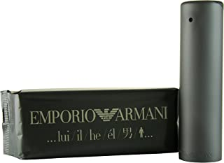 Giorgio Armani Emporio Armani Eau de Toilette Spray for Men, 100ml, 3.4 fl. oz. (122058-OLD)