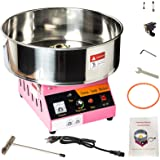 Display4top Tabletop Commercial Electric Cotton Candy Machine Sweet Sugar Candy Floss Maker