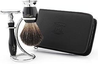 Męskie zestawy do golenia ręcznego - bezpieczny zestaw golarek na Dzień Ojca prezent najlepsze zestawy do golenia dla mężc...