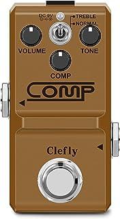 Clefly Nano Compressor Guitar Effect Pedal Guitar Comp...
