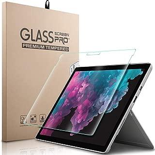 ELTD マイクロソフトSurface Pro 6 ガラスフィルム Surface Pro 6/Surface Pro 4/ Surface Pro 5/Surface Pro 2017保護フィルム  耐指紋 高透過率 気泡ゼロ 硬度9H 日本語説明書付き