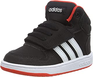 adidas Hoops Mid 2.0 I, Sneakers Basses Garçon Mixte Enfant