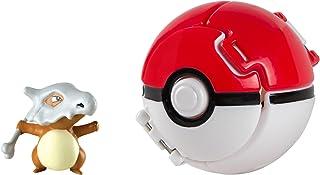Pokémon T19118 Pokemon Throw 'N' Pop Cubone and Poké Ball, Multi-Colour
