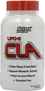 Nutrex Research LIPO-6 CLA, 180 Softgels
