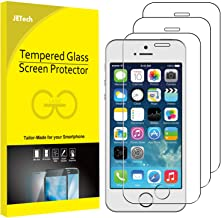 JETech Screen Protector for Apple iPhone SE (2016 Edition), iPhone 5s, iPhone 5c and..