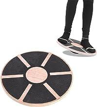 Balance Board Premium Therapie Top, Wobble Board Fysiotherapie Balance Board Hout Balanstrainer Voor Proprioceptieve Train...