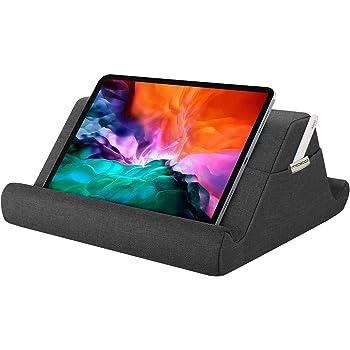 """MoKo Coussin de Support Souple pour Tablet, Pad Pillow Support Multi-Angle, Support d'oreiller pour Liseuses, Compatible avec iPad 10.2"""" 2020, New iPad Air 4/10.9, iPad Pro 11 2020/10.5 - Gris Sidéral"""