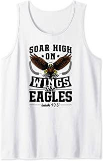 Soar High On Wings Like Eagles Christian Easter Bible Gift Tank Top