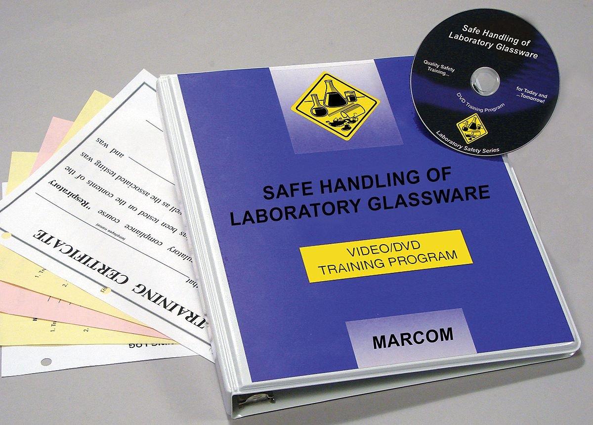 Max 58% OFF Marcom Group V0001199EL Safe Handling Cheap super special price DVD Glassware Train of Lab