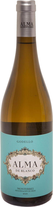 ALMA vino blanco godello DO Monterrei botella 75 cl