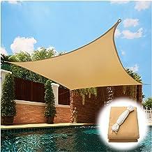 PENGFEI Schaduwdoek Sunblock Shading Net, Outdoor Decoratie Waterdichte Zonnebrandcrème Binnenplaats Luifel, UV Beschermin...