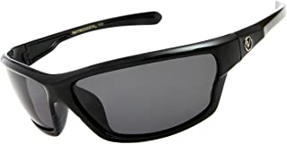 Nitrogen Men's Rectangular Sports Wrap 65mm Polarized...