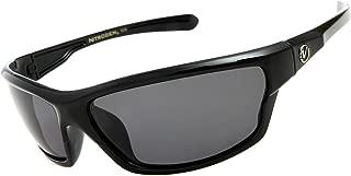 Nitrogen Men's Rectangular Sports Wrap 65mm Polarized Sunglasses