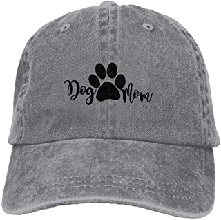 86e92ee9f22 Jusxout Dog Mom Fashion Unisex Adjustable Baseball Cap Dad Hat