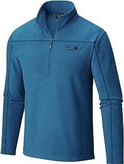 Mountain Hardwear Men's Microchill Zip T, Phoenix Blue, XX-Large