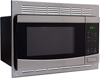 RecPro RV Stainless-Steel Microwave 1.0 cu ft. With Trim Package EM925AQR-S