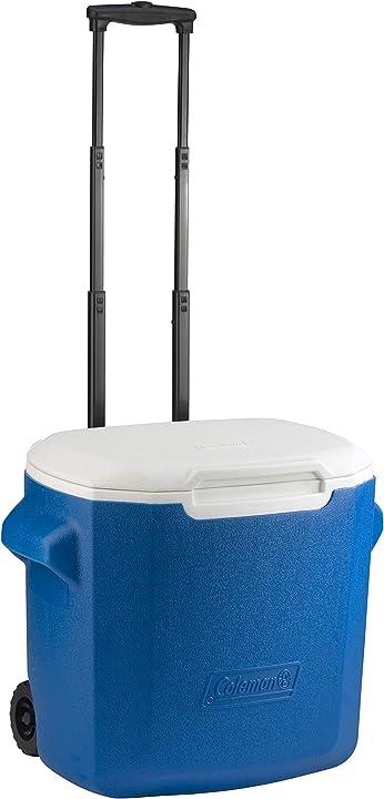 Ghiacciaia con rotelle, frigo 26 litri di capacità, frigo portatile coleman 28 qt performance 2000036086