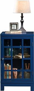 Sauder 420140 Carson Forge Display Cabinet, L: 17.91