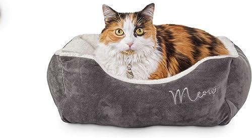 new arrival Petco sale Brand - discount Harmony Grey Rectangular Cat Bed online