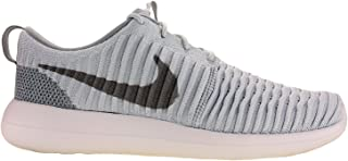 Mens Roshe Two Flyknit Running Shoes Pure Platinum/Wolf Grey/White 844833-011 Size 10