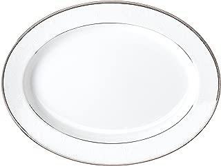 Noritake Regina Platinum 16-Inch Oval Platter