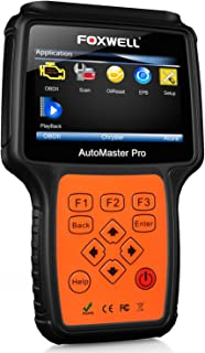 FOXWELL NT624 PRO Automotive Obd2 Obdii Code Reader Car All-Systems Diagnostic Scan Tool with ABS/Oil Light Reset and EPB Service Functions CAN OBD II EOBD Scanners for Autoshop Mechanics