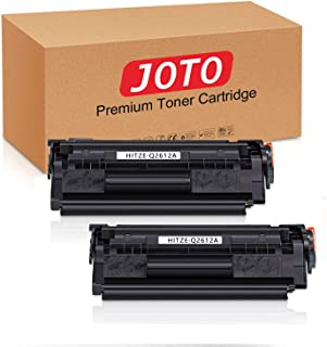 JOTO Compatible Toner Cartridges Replacement for HP 12A Q2612A, Use with Laserjet 1020 1012 1022 1010 1018 1022n 3015 3030...
