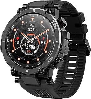 JessFash Smartwatch Sport Reloj Inteligente con Carcasa Ultraligera y Robusta Duración de la batería de 30 días IP68 Resistente al Agua 20 Modos Deportivos Rastreador de Actividad al Aire Libre