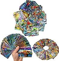 zhybac Trading cards 100 Carte GX Complete carte da 100 Pezzi Flash card Divertenti Carte tag Team GX Regali di...