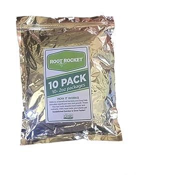 10 Pack of Root Rocket (DIEHARD) Transplant Fertilizer - 2 oz. Packets