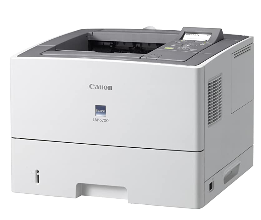 追加シンカンよりCanon レーザープリンタ Satera LBP6700 A4モノクロ対応 A4モノクロ40ppm 給紙枚数標準600枚 自動両面印刷標準 ネットワークI/F標準対応