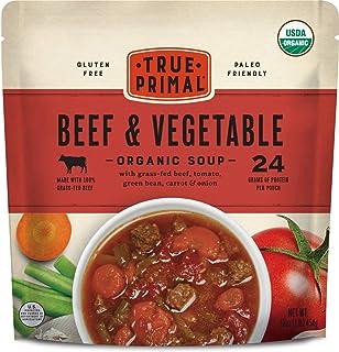 Sponsored Ad - True Primal Beef & Vegetable Organic Soup 8-pack