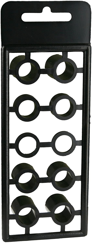 SST Install Bay Spacers Black Plastic 10 Pack