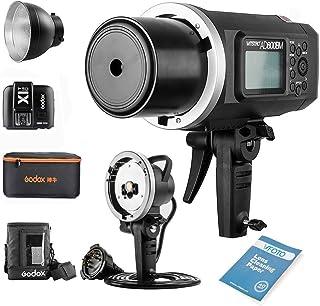 Godox Witstro AD600BM Bowens Mount Manual Versión Aire Libre Flash+ X1T-C Transmisor+ Ad-h600b +CB-09 para Canon 6D 7D 50D...