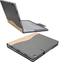 Executive Surface Book Protective Case, Detachable Protective Flip Case Cover for 13.5 inch Microsoft Surface Book 2