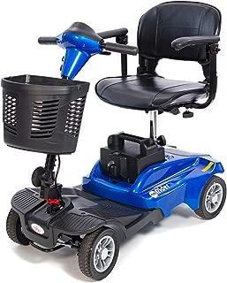 EV Rider - Mini Rider Compact Scooter - 4-Wheel - Metallic Blue