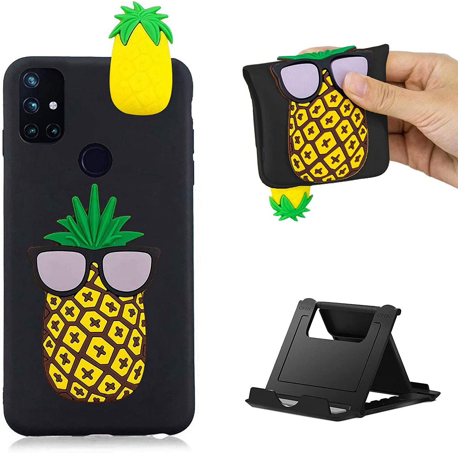 Shinyzone Compatible with Samsung Galaxy Silicone Max 41% OFF Ca 3D Max 85% OFF Case A21