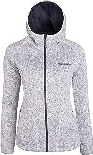Mountain Warehouse Womens Nevis Fur Hoodie - Soft, Warm, Chin Guard & Fleece Lining with Adjustable Hood & Pockets- Ideal ...