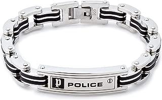 [ポリス] POLICE CARB ステンレス ブレスレット メンズ 24919BSB01