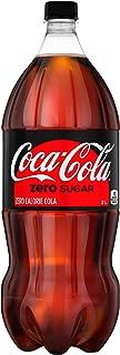 Coke Zero Sugar Diet Soda Soft Drink, 2 Liters