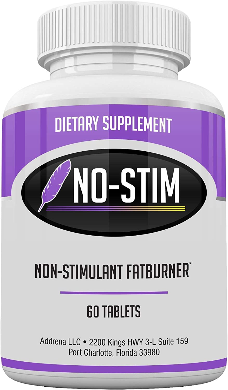 No-Stim Non Stimulant Fat Burner High material Pills Work- That Cheap mail order shopping Appetite Diet