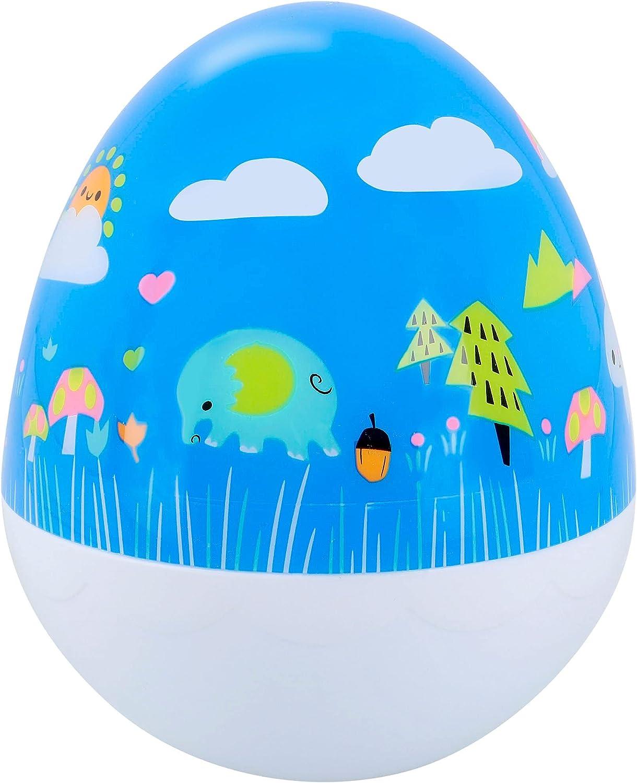 PlayGo - Tentetieso infantil, con forma de huevo, Tentetieso con sonido, Juguete de bebé, Juguete primera infancia, Para bebés, a partir de 6 meses, PlayGo, COLORBABY (46392)