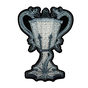 Harry Potter Triwizard Cup Patch Champion Magic Embroidered Iron On Applique