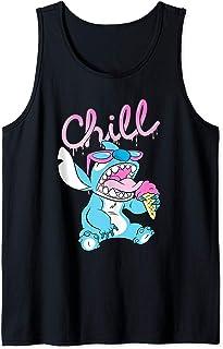 Disney Lilo and Stitch Neon Ice Cream Chill Drip Débardeur