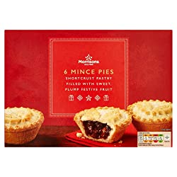 Morrisons Mince Pies, 6 pies