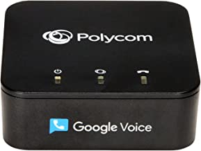 $49 » Obihai OBi200 1-Port VoIP Adapter with Google Voice and Fax Support for Home and SOHO Phone Service, Black