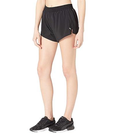 PUMA 3 Run Favorite Woven Shorts (PUMA Black) Women