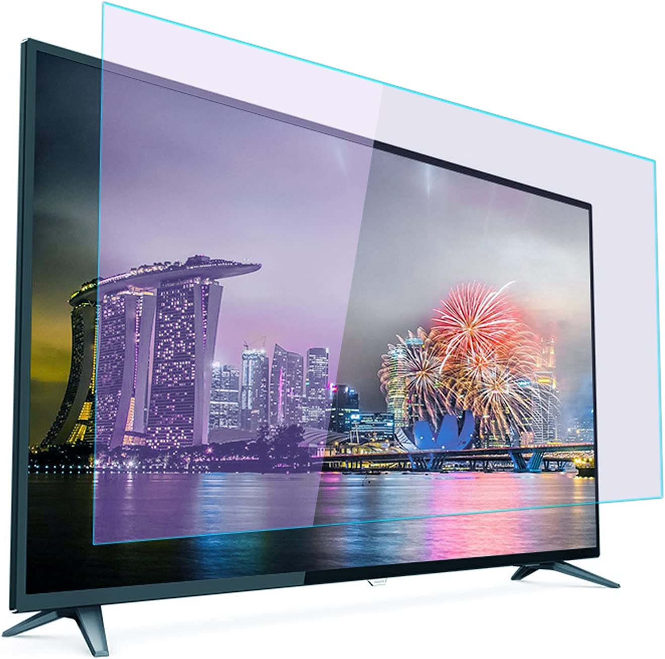 High order 32-75 Inch Super Special SALE held TV Screen Protector Light Anti Blue Anti-Glare S